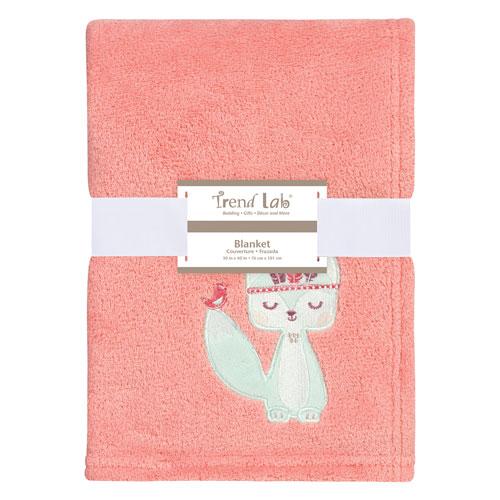 Wild Forever Plush Baby Blanket