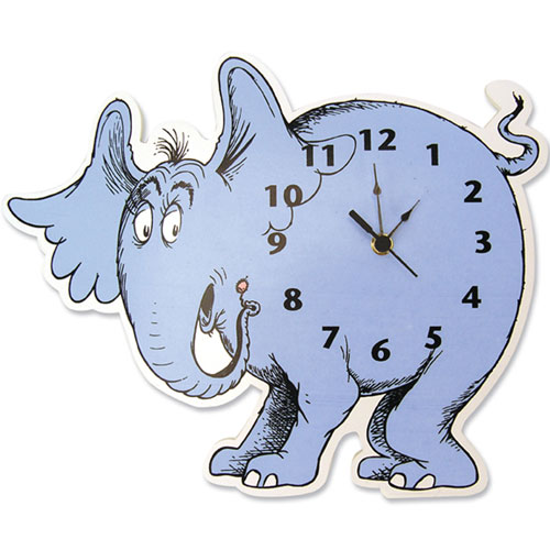 Dr. Seuss Horton Wall Clock
