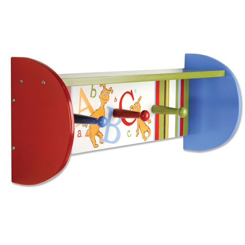 Trend Lab Dr. Seuss ABC Shelf w/Pegs