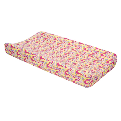 Trend Lab Dr. Seuss Pink Changing Pad Cover