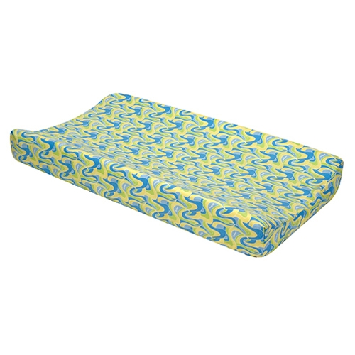 Dr. Seuss Blue Changing Pad Cover