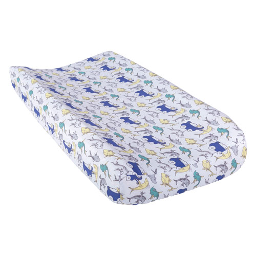 Trend Lab Dr. Seuss New Fish Changing Pad Cover