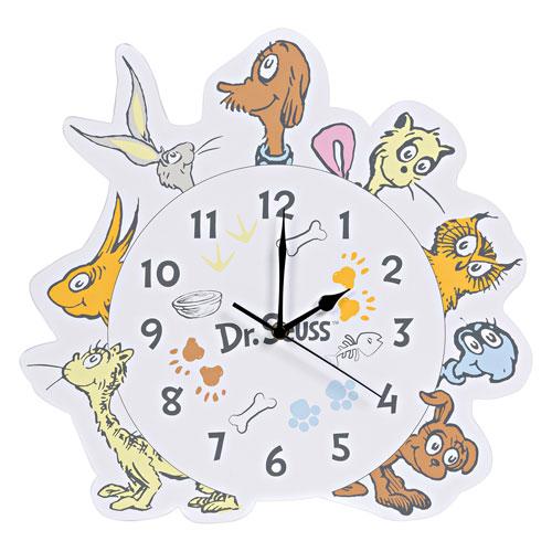 Dr. Seuss What Pet Should I Get? Wall Clock