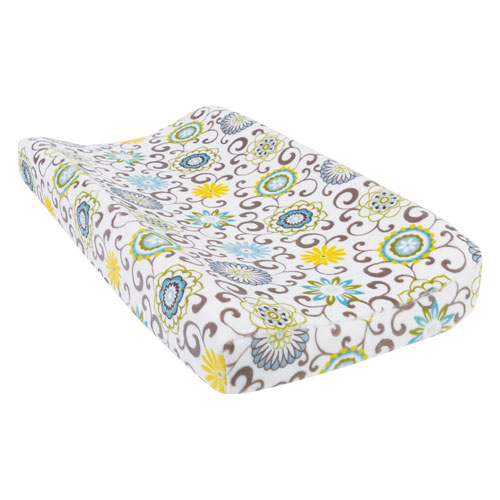 Trend Lab Waverly Pom Pom Spa Plush Changing Pad Cover