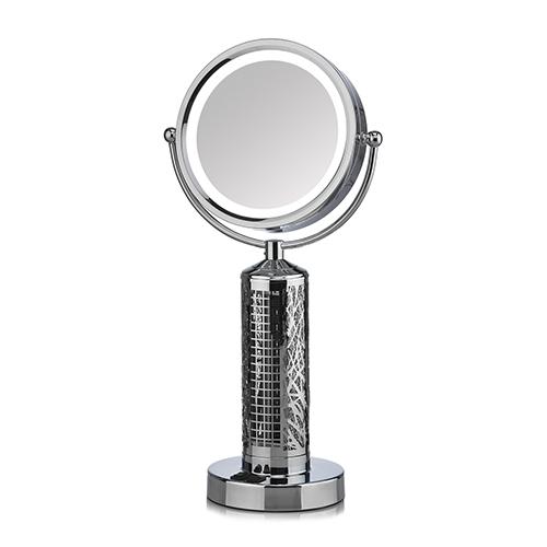 Deco Breeze Fanity Silver LED Table Fan