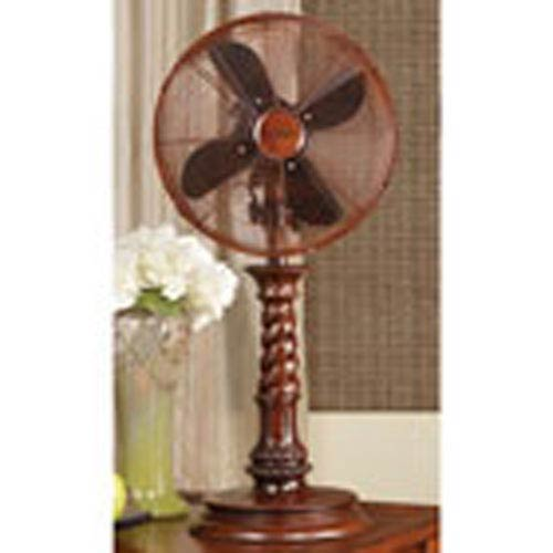 Deco Breeze Brown 10 Inch Table Fan Raleigh