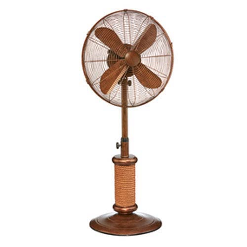 Nautica Antique White 18-Inch Outdoor Fan