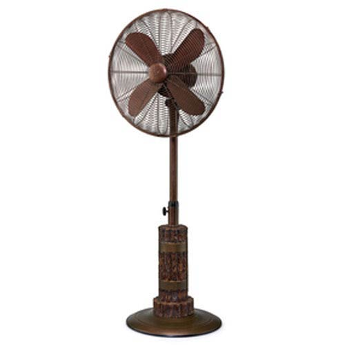 Terra Brown Outdoor Fan
