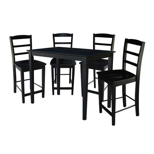 Black Gathering Height Five Piece Set