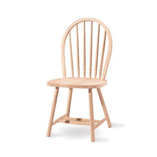 Windsor Spindleback Unfinished Wood Chair