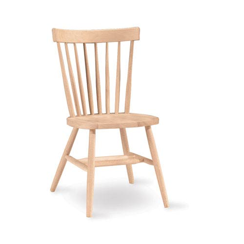 Copenhagen Unfinished Wood Chair