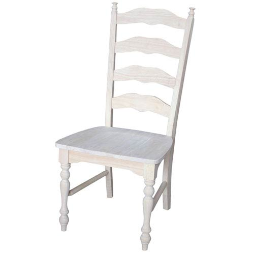 Maine Ladderback Chair, Set of Two