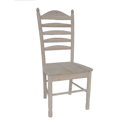 International Concepts Bedford Ladderback Chair, Set Of Two