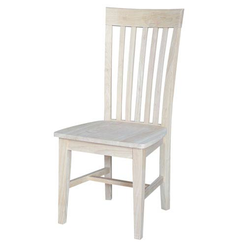 Tall Mission Chair, Set of Two