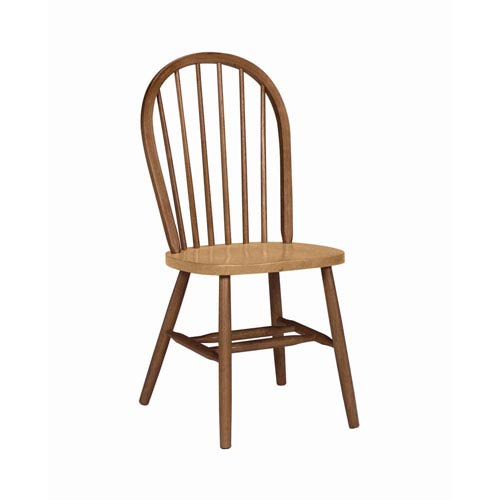 37-Inch Spindleback Chair with Plain Legs