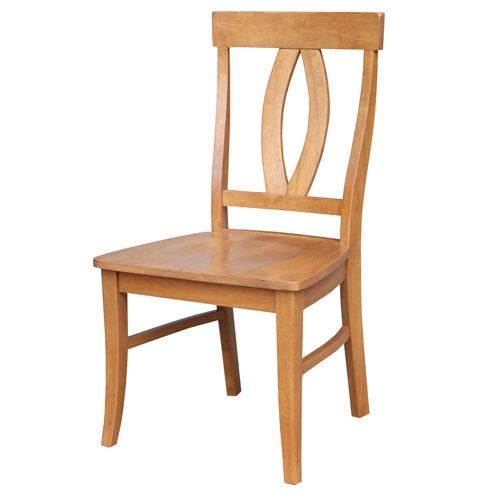International Concepts Aged Cherry Cosmo Verona Chair, Set Of Two