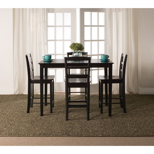 Black Gathering Height Five Piece Set