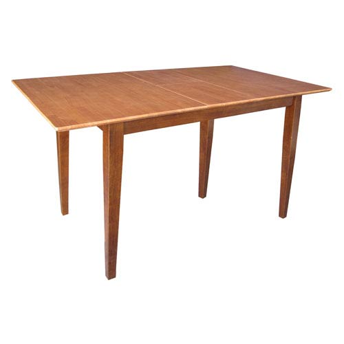 International Concepts Cinnamon And Espresso 36-Inch Dining Table
