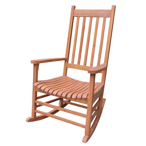 International Concepts Porch Rocker Oiled Stained - Solid Wood