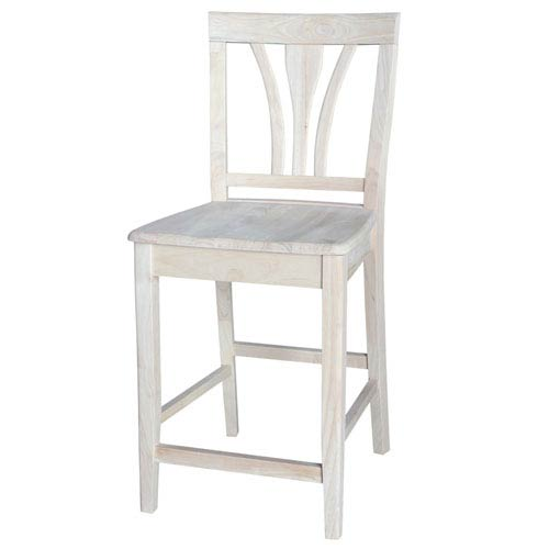 Counter Height Fanback Stool
