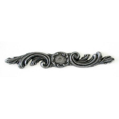 Antique Pewter Swril Backplate