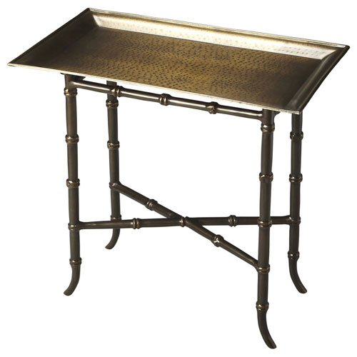 Metalworks Aluminum X-Stretcher Tray Table