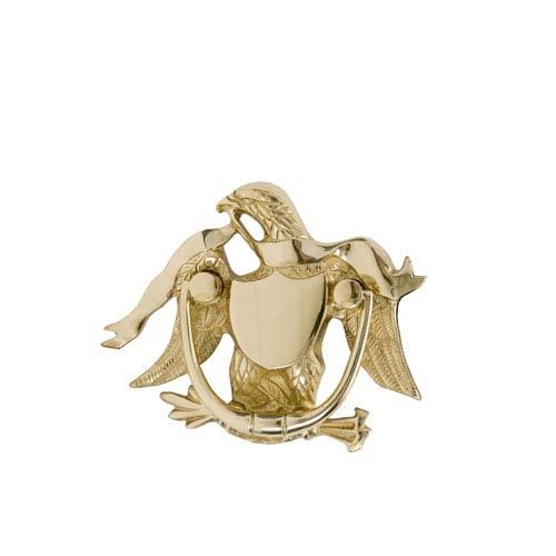 Brass Accents Eagle Antique Brass 5 7/8-Inch Door Knocker