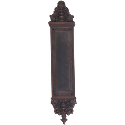 Brass Accents Apollo Venetian Bronze 18-Inch Push Plate