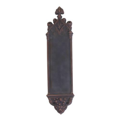 Brass Accents Gothic Venetian Bronze 16-Inch Push Plate