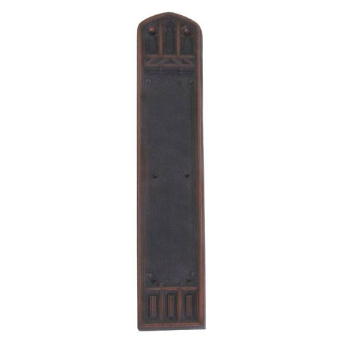 Brass Accents Oxford Venetian Bronze 18-Inch Push Plate