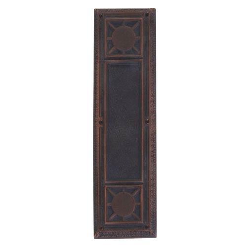 Nantucket Venetian Bronze 13 7/8-Inch Push Plate
