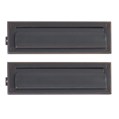 Traditional Venetian Bronze 3.63-Inch x 13-Inch Mail Slot