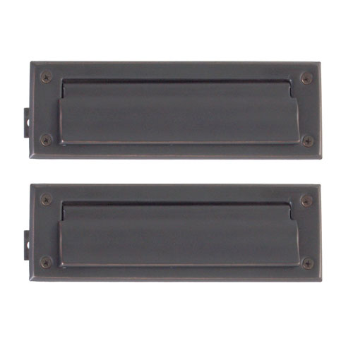 Traditional Venetian Bronze 3-Inch x 10-Inch Mail Slot