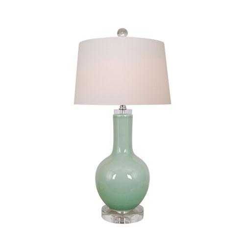 Porcelain Celadon One-Light Table Lamp
