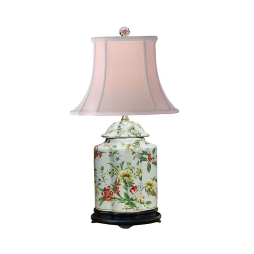 East Enterprise Porcelain Ware Blue and White 22-Inch One-Light Table Lamp