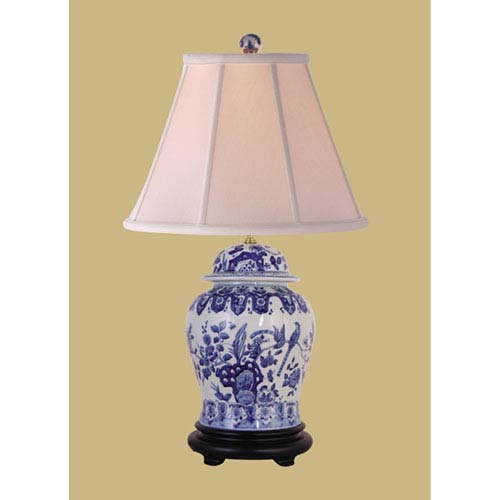 Blue and White Jar Table Lamp