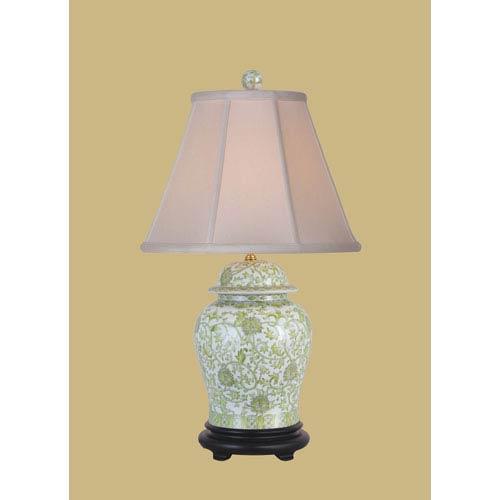 Lemon Grass One-Light Porcelain Jar Table Lamp