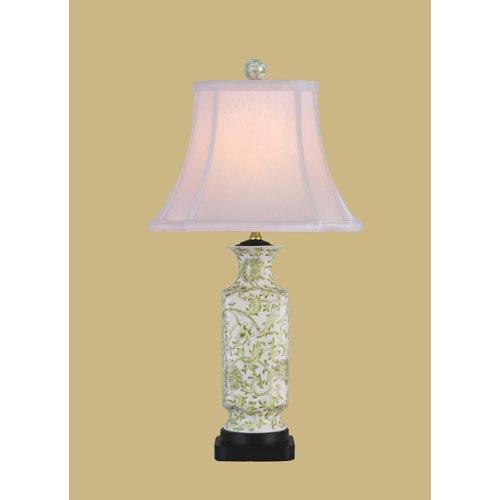 Lemon Grass Green One-Light Porcelain Table Lamp