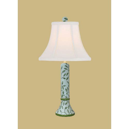 East Enterprise Light Green 22-Inch Vase Table Lamp