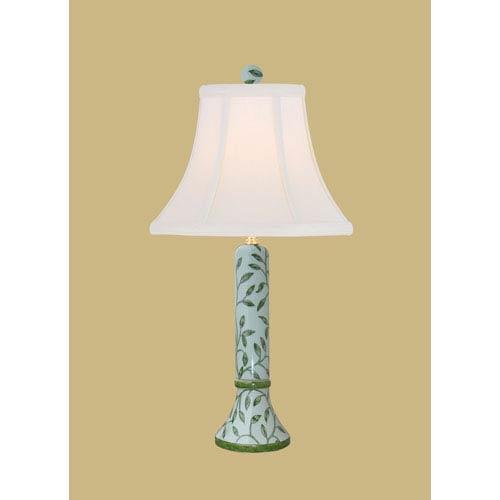Light Green 22-Inch Vase Table Lamp