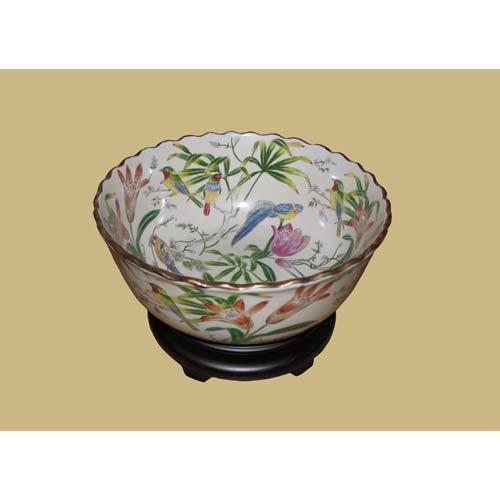 Porcelain Bowl with Base