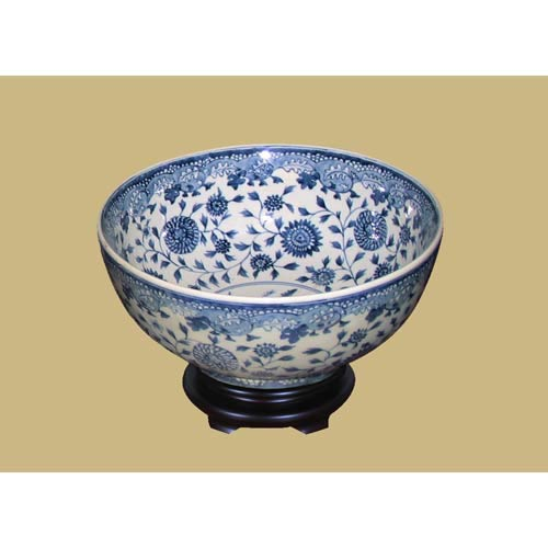 Porcelain Bowl with Base
