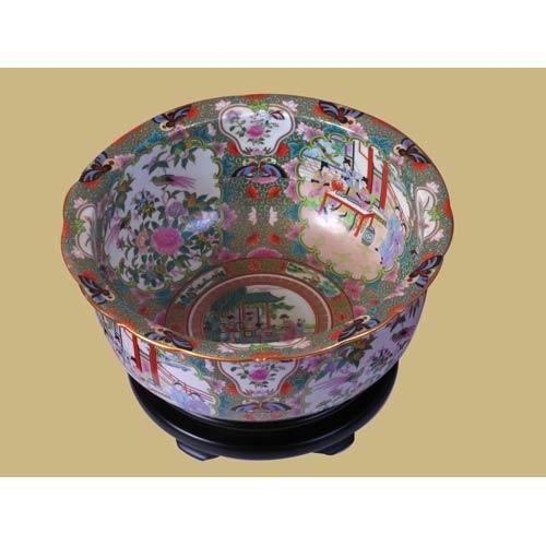 Rosemedallia Bowl with Base