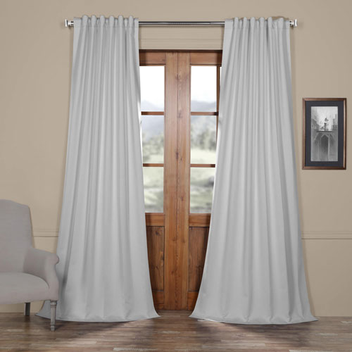 Icicle Grey 108 x 50 In. Blackout Curtain Panel Pair