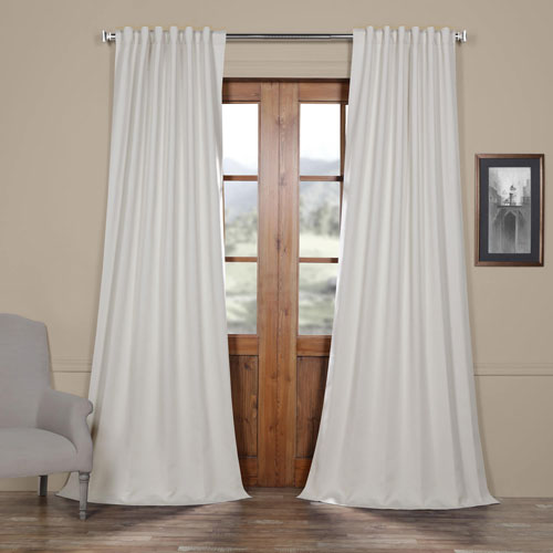 Cream 96 x 50 In. Blackout Curtain Panel Pair