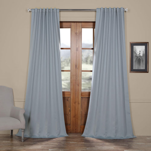Rose Street Ice Blue 96 x 50 In. Blackout Curtain Panel Pair