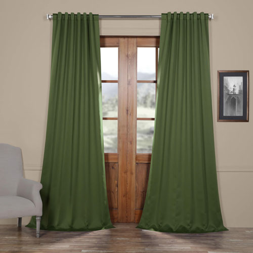 Rose Street Tropical Green 96 x 50 In. Blackout Curtain Panel Pair