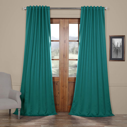 Rose Street Northern Green 108 x 50 In.Blackout Curtain Panel Pair