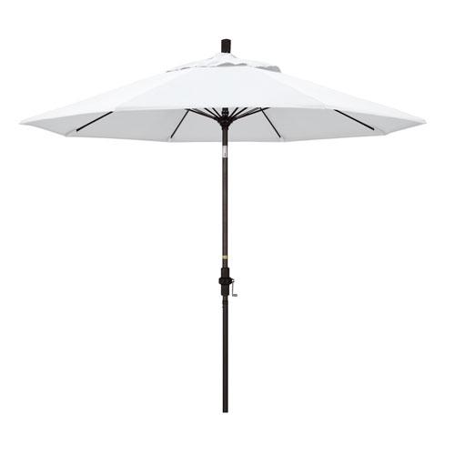 9 Foot Umbrella Fiberglass Market Collar Tilt Bronze/Pacifica/Natural
