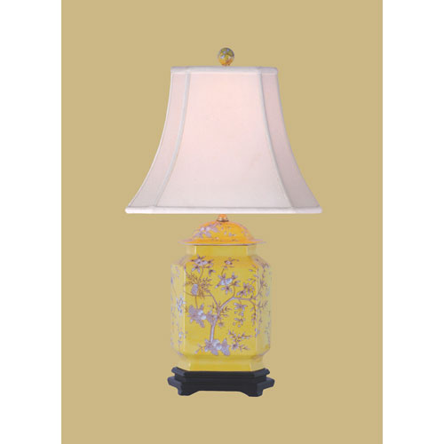 East Enterprise Porcelain Jar Table Lamp